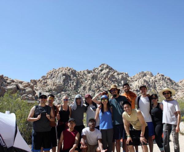 Codesmith students in Joshua Tree