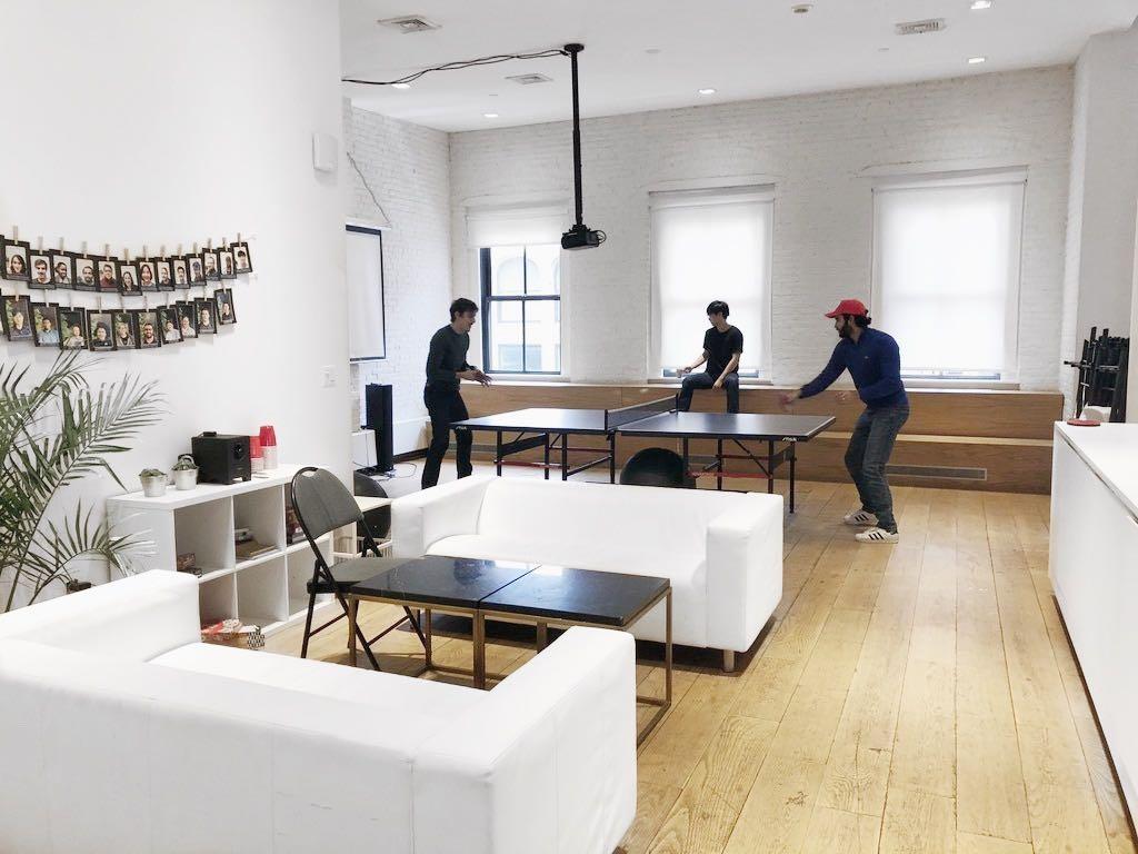 NYC Codesmith students bonding